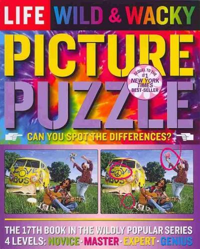 Life Wild & Wacky Picture Puzzle: Can You Spot the Differences?, 4 Levels, Novice, Master, Expert, Genius (Paperback)