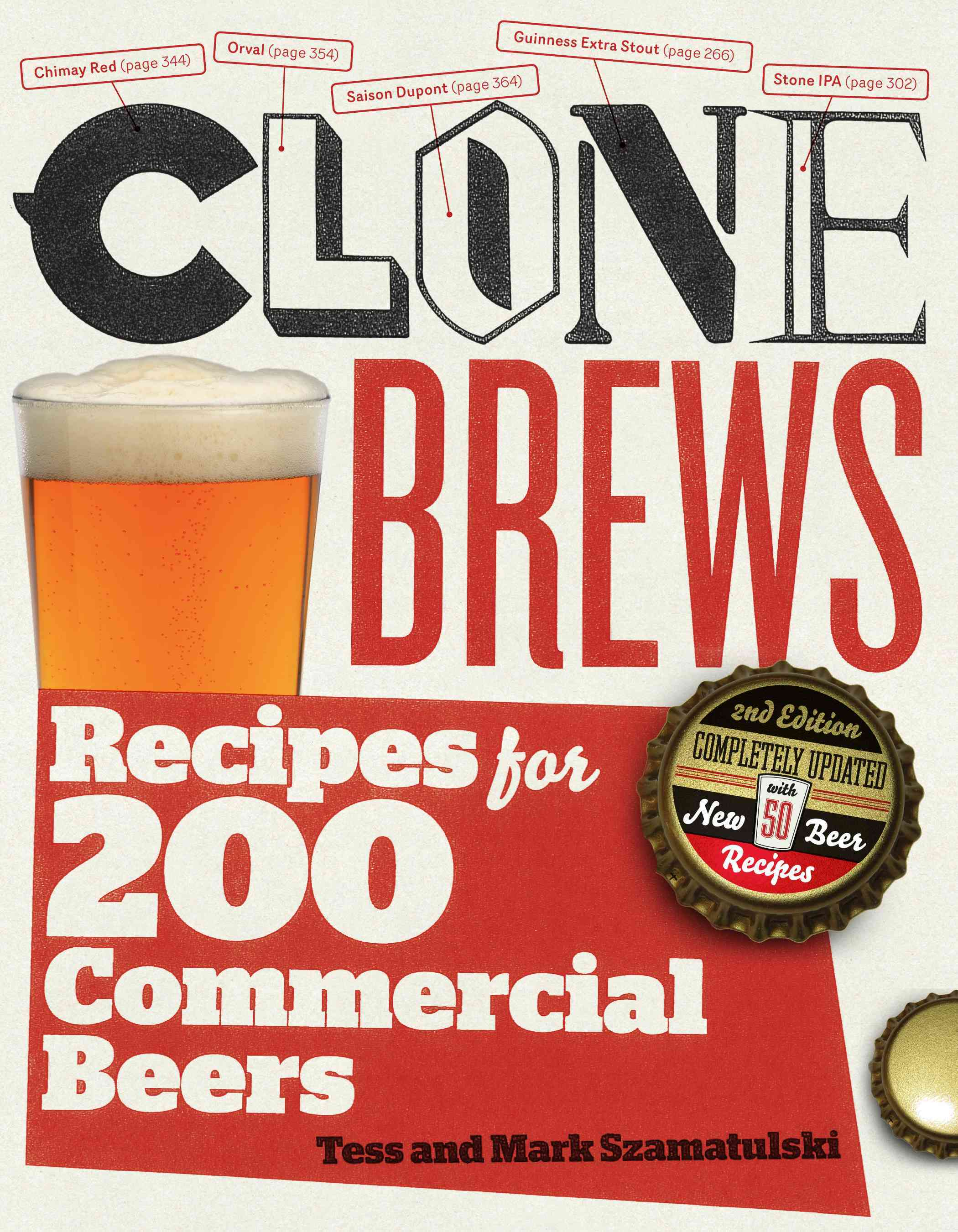 CloneBrews: Recipes for 200 Commercial Beers (Paperback)