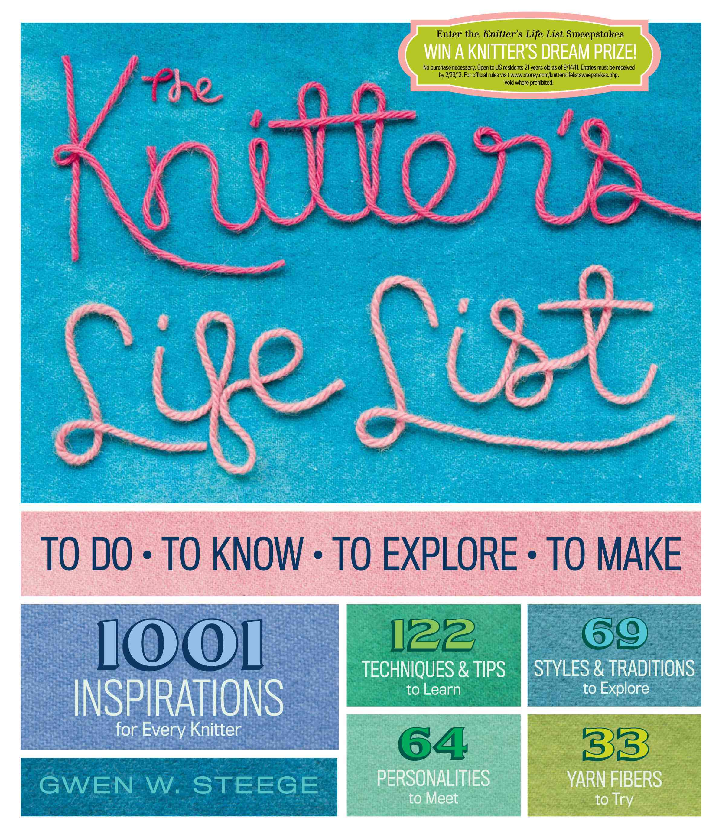 The Knitter's Life List: To Do, to Know, to Explore, to Make (Paperback)