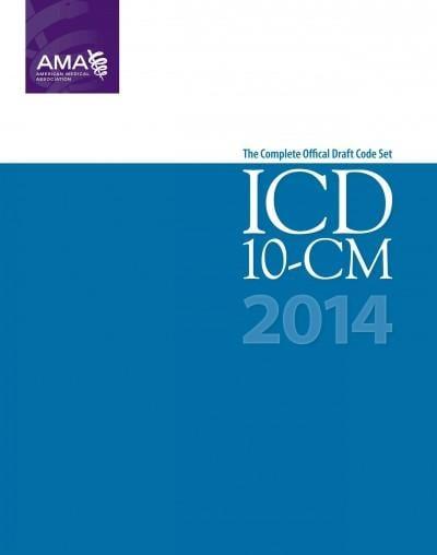 ICD-10-CM 2014: The Complete Official Draft Code Set (Paperback)