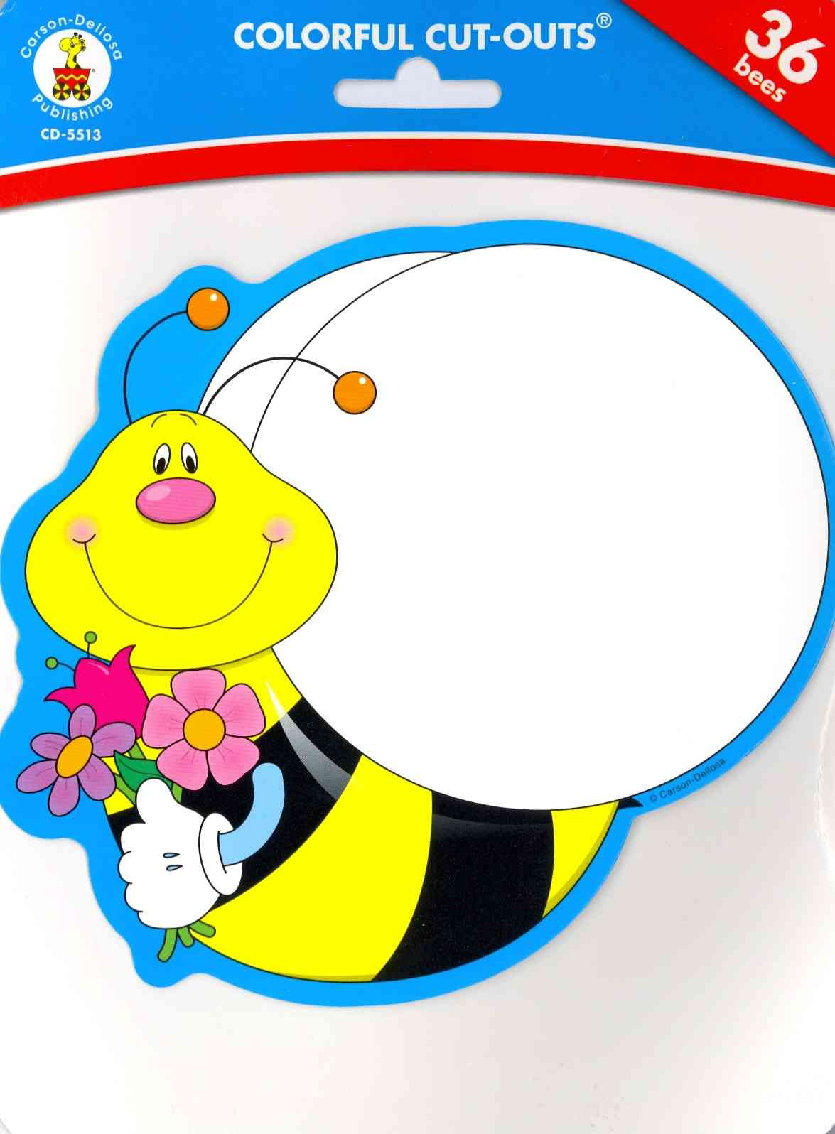 Bees Colorful Cut-Outs (Novelty book)