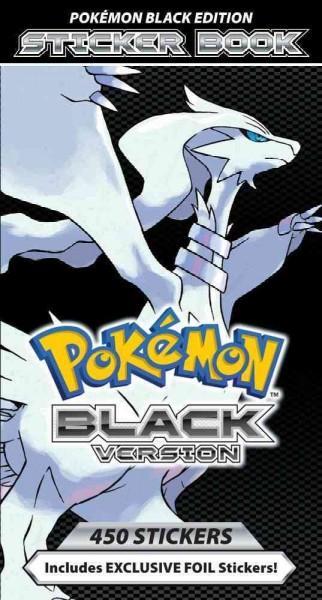 Pokemon Black Version Sticker Book (Paperback)