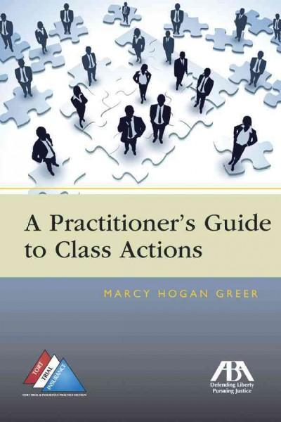 A Practitioner's Guide to Class Actions (Paperback)