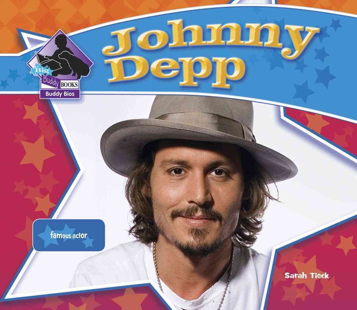 Johnny Depp: Famous Actor (Hardcover)