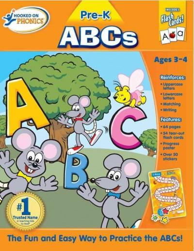 Hooked on Phonics ABCs: Pre-k (Paperback)