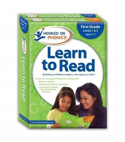 Hooked on Phonics Learn to Read 1st Grade Complete: First Grade, Levels 1 & 2