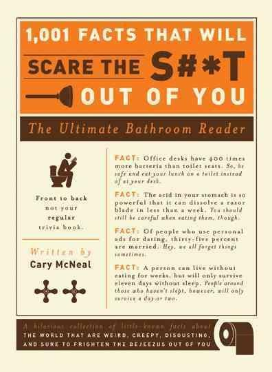 1,001 Facts That Will Scare the S#*t Out of You: The Ultimate Bathroom Book (Paperback)