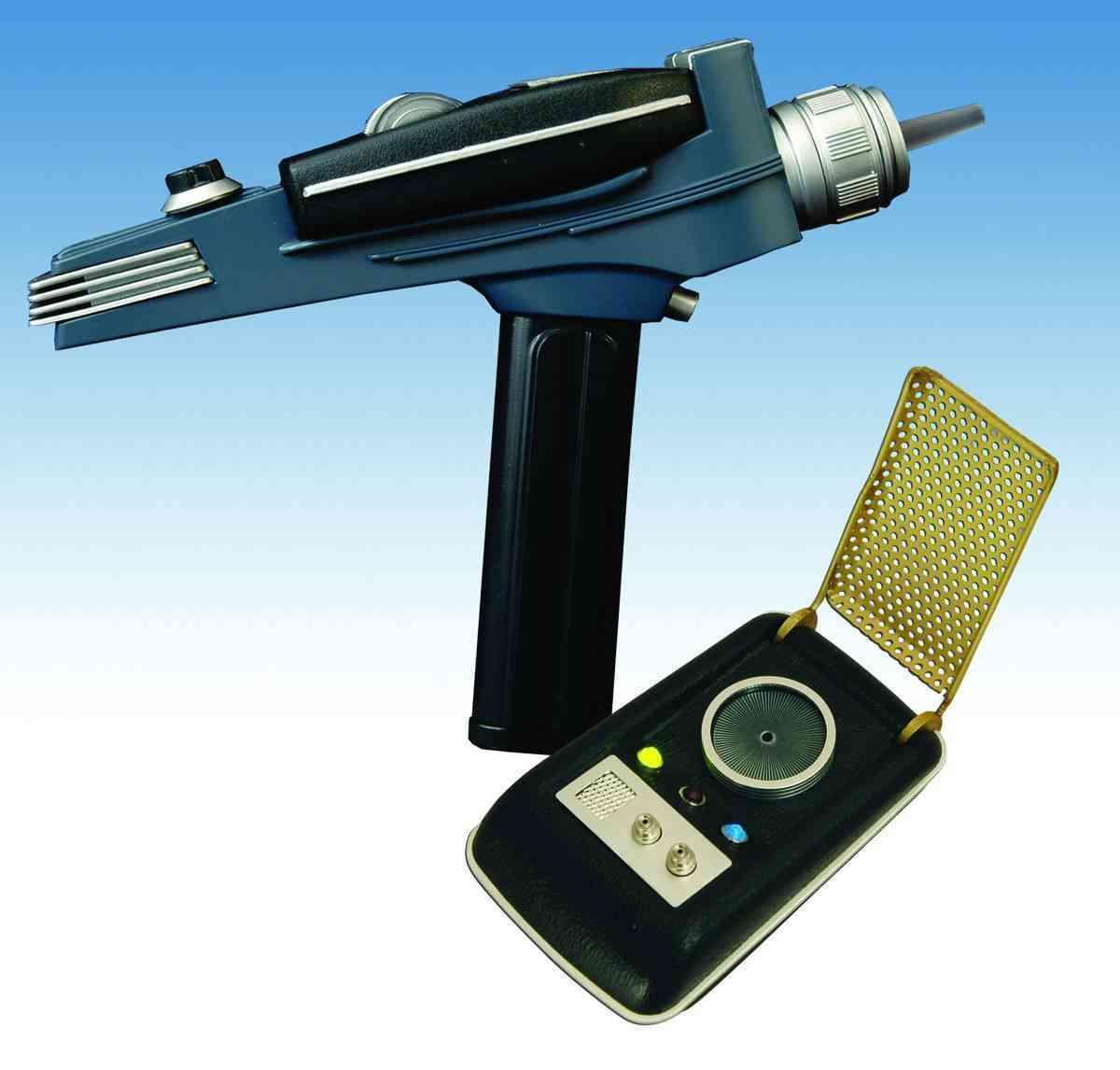 Star Trek Communicator and Phaser (Toy)