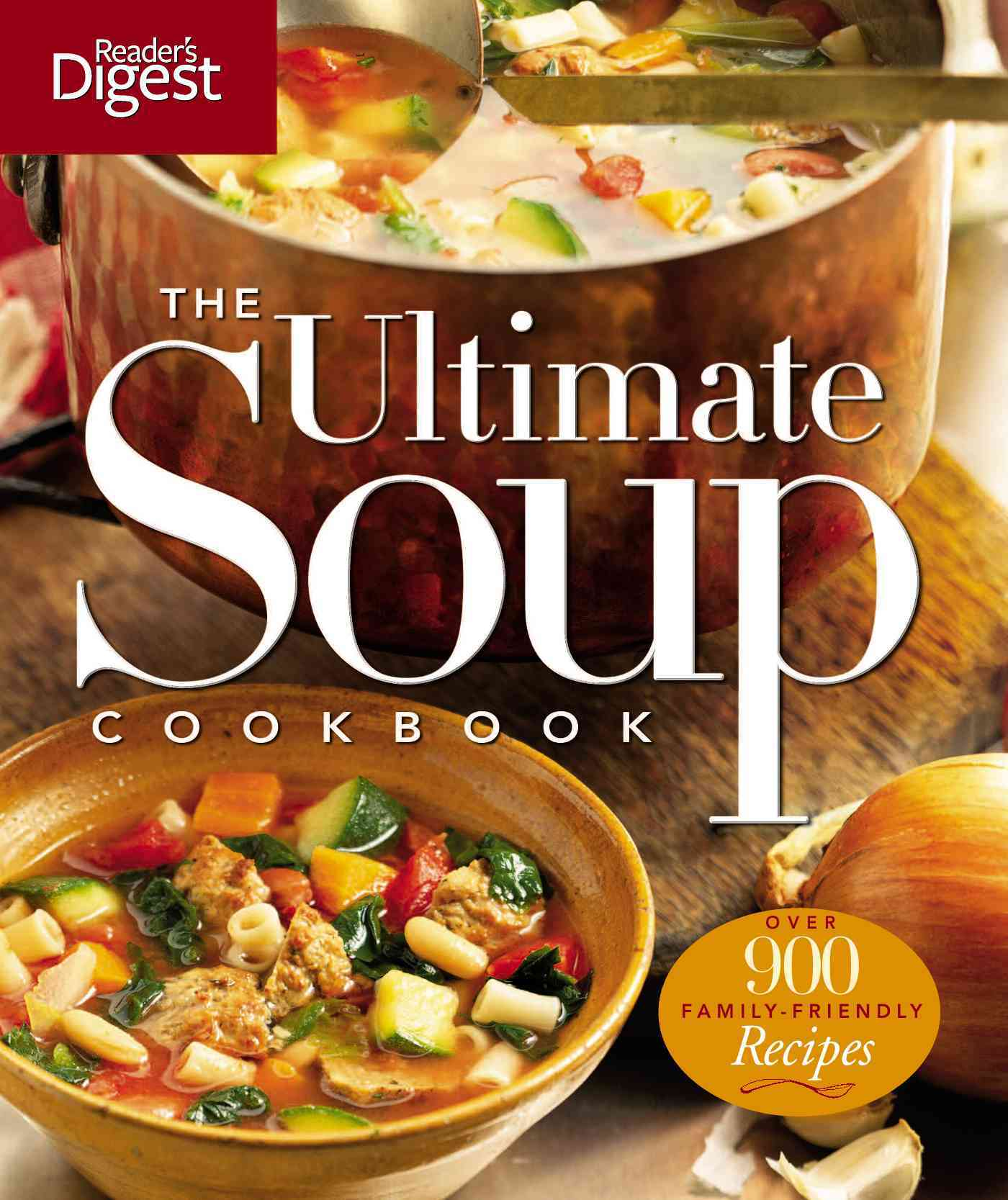 The Ultimate Soup Cookbook (Paperback)