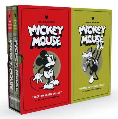 Walt Disney's Mickey Mouse: Race to Death Valley and Trapped on Treasure Island (Hardcover)