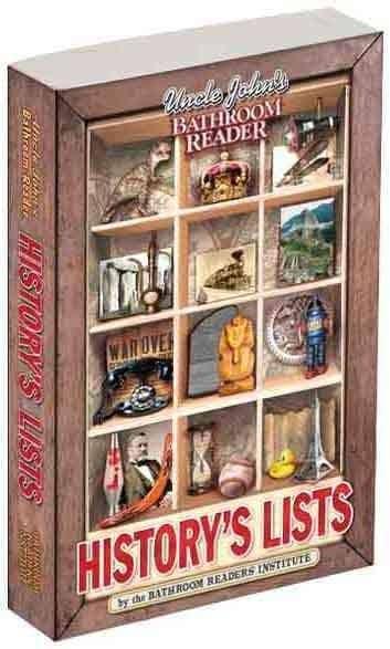 Uncle John's Bathroom Reader History's Lists (Paperback)