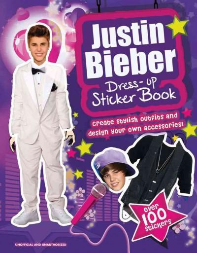 Justin Bieber Dress-Up Sticker Book (Paperback)