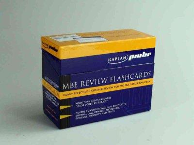 MBE Review Flashcards: Highly Effective, Portable Review for the Multistate Bar Exam (Cards) - Thumbnail 0