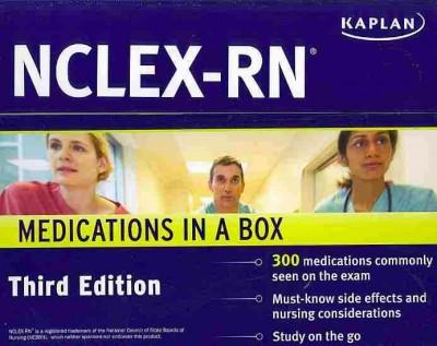 Kaplan NCLEX-RN Medications in a Box (Cards)