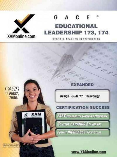 Gace Educational Leadership 173, 174: Teacher Certification Exam (Paperback)