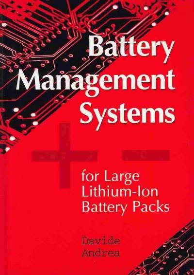 Battery Management Systems for Large Lithium-Ion Battery Packs (Hardcover)