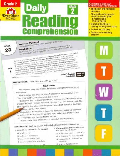 Daily Reading Comprehension, Grade 2 (Paperback)