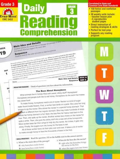 Daily Reading Comprehension, Grade 3 (Paperback)