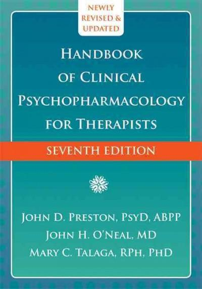 Handbook of Clinical Psychopharmacology for Therapists (Hardcover)