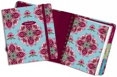 Address Book Cranberry Mandala (Address book)