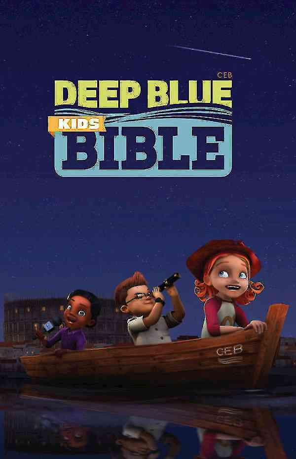 CEB Deep Blue Kids Bible: Common English Bible (Hardcover)