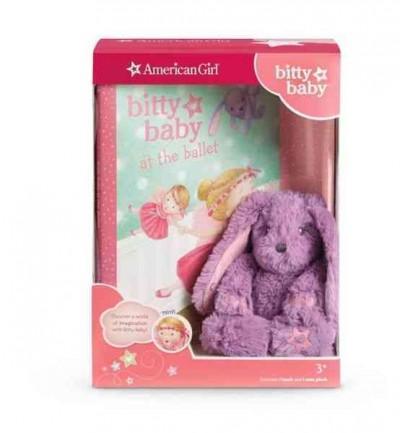 Bitty Baby's Mini Bunny & Book