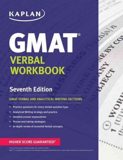 Kaplan GMAT Verbal (Paperback)