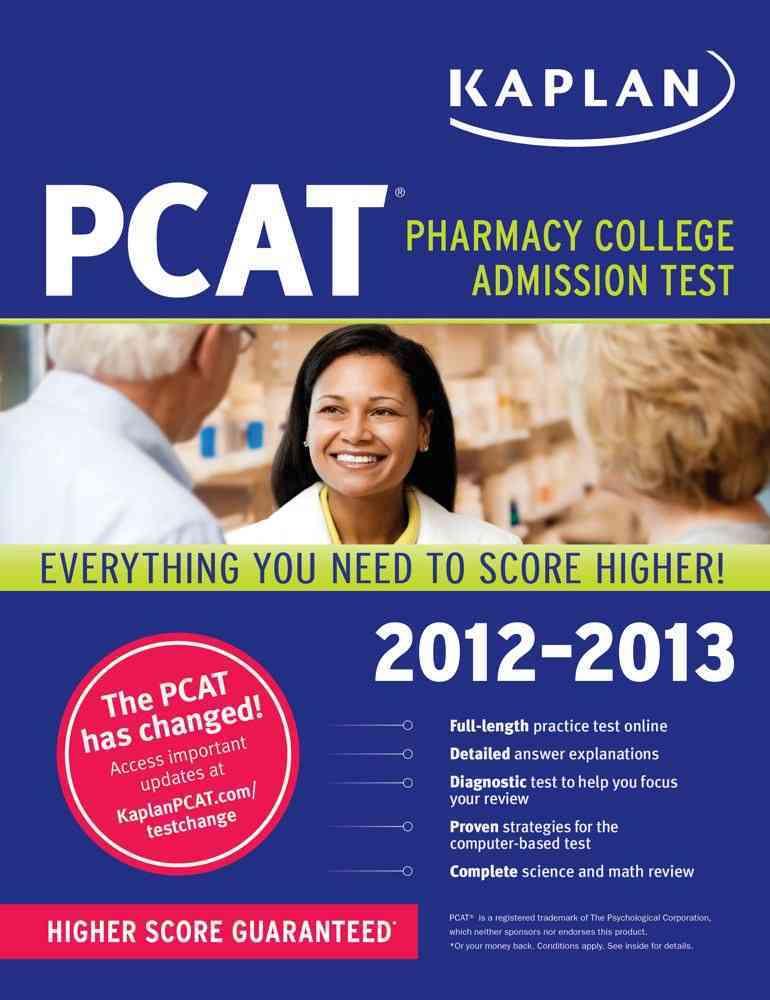 Kaplan PCAT 2012-2013 Edition