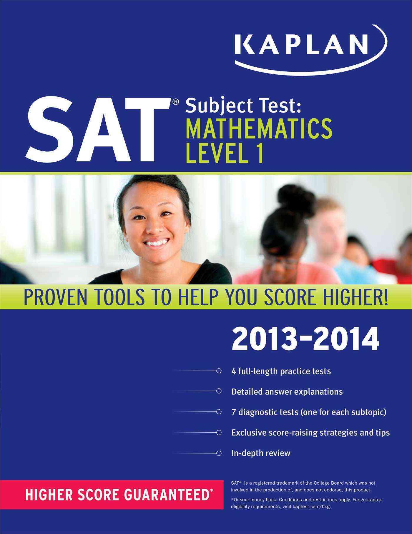 Kaplan SAT Subject Test: Mathematics Level 1 2013-2014 (Paperback)