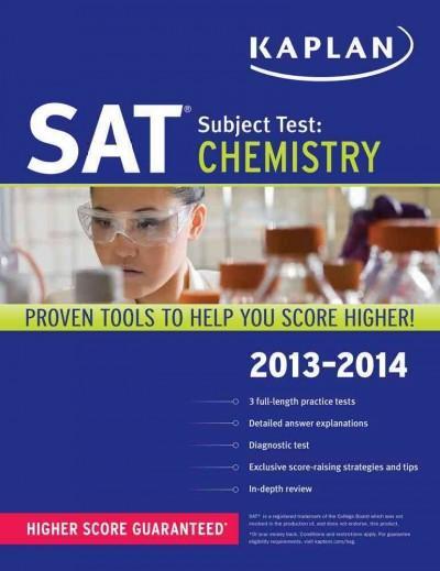 Kaplan SAT Subject Test: Chemistry 2013-2014 (Paperback)