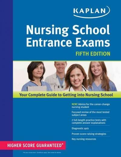 Kaplan Nursing School Entrance Exams (Paperback)