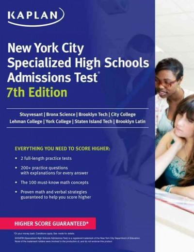Kaplan New York City Specialized High Schools Admissions Test: Advanced Prep for Advanced Students (Paperback)