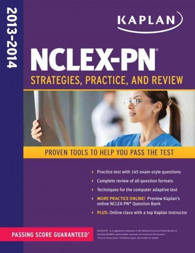 NCLEX-PN 2013-2014: Strategies, Practice, and Review (Paperback) - Thumbnail 0