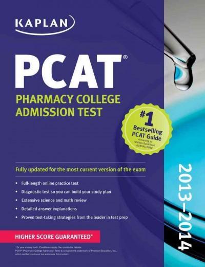 Kaplan PCAT 2013-2014 (Paperback)