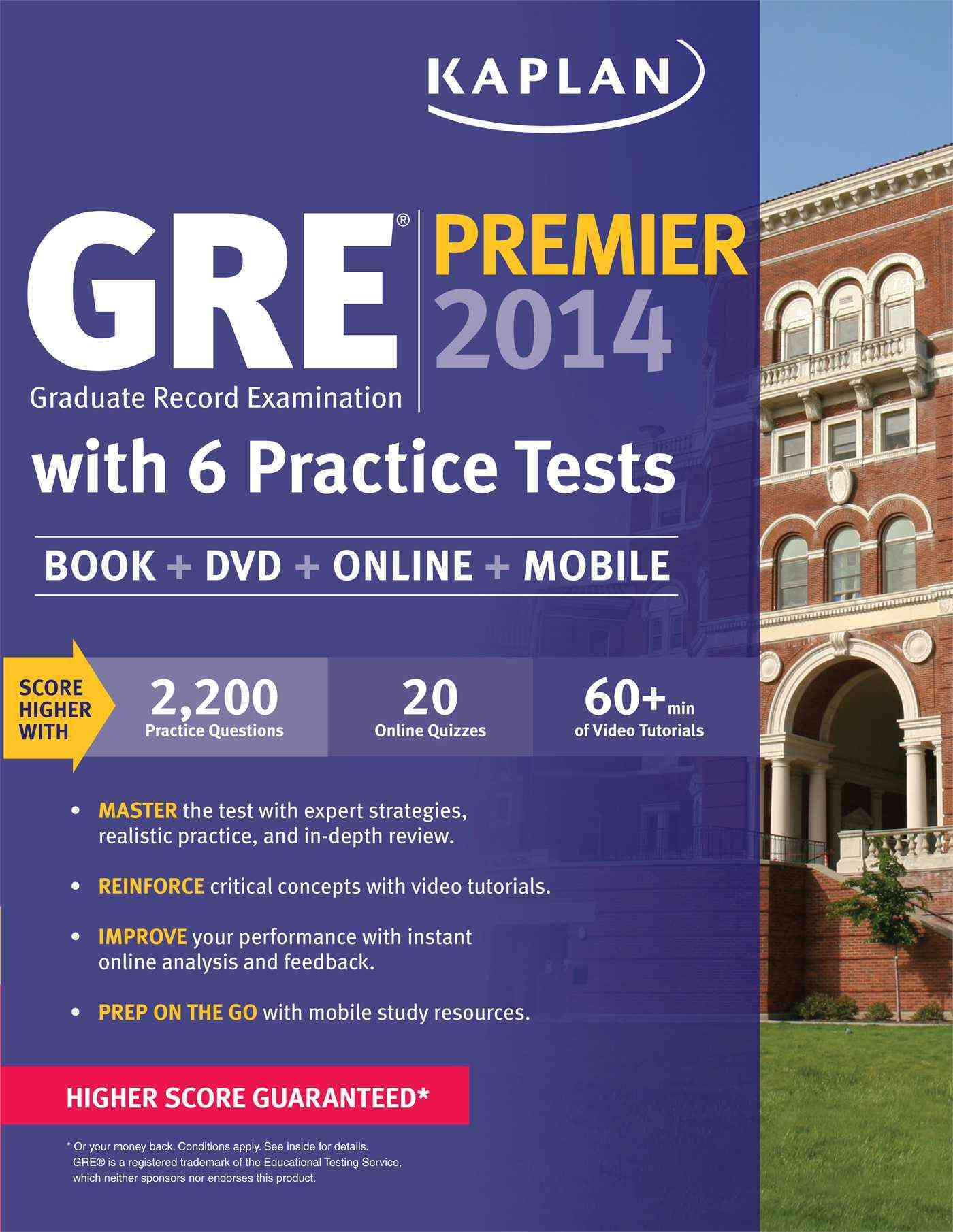Kaplan GRE Premier 2014