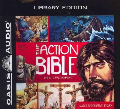 The Action Bible New Testament: God's Redemptive Story, Library Edition (CD-Audio)
