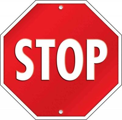 Stop Sign (Poster)