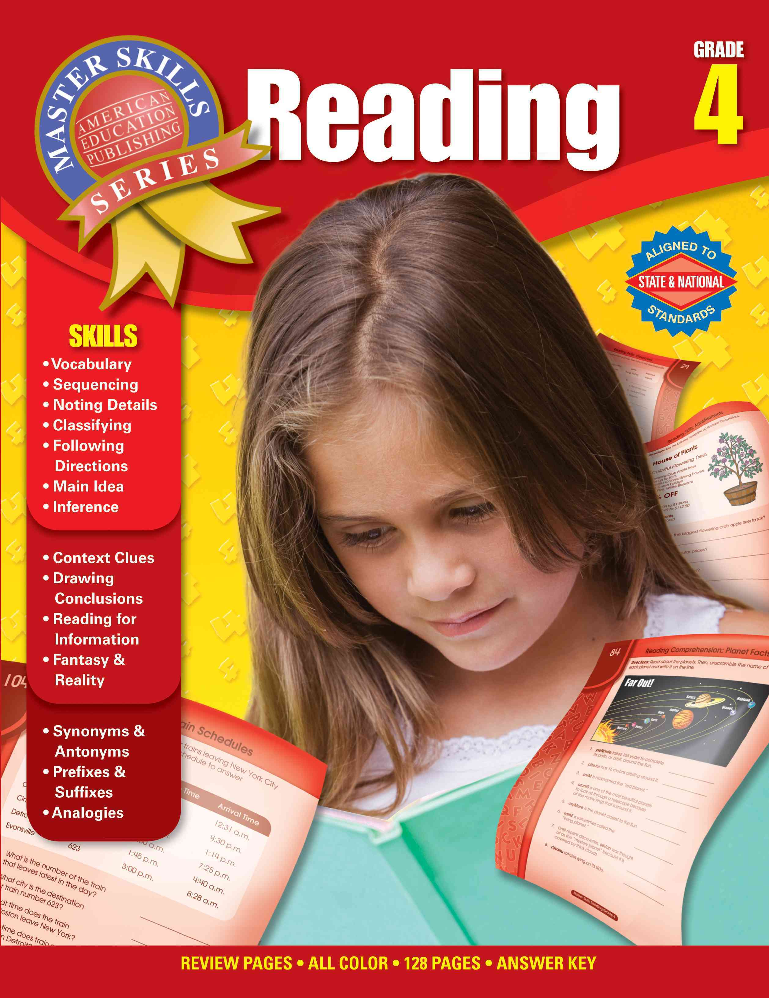 Reading Grade 4 (Paperback)