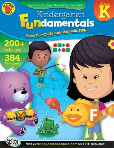 Kindergarten Fundamentals (Paperback)