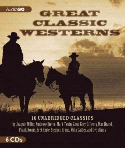 Great Classic Westerns (CD-Audio)