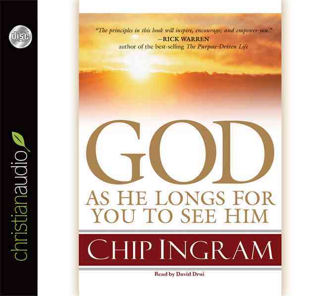 God: As He Longs for You to See Him (CD-Audio)