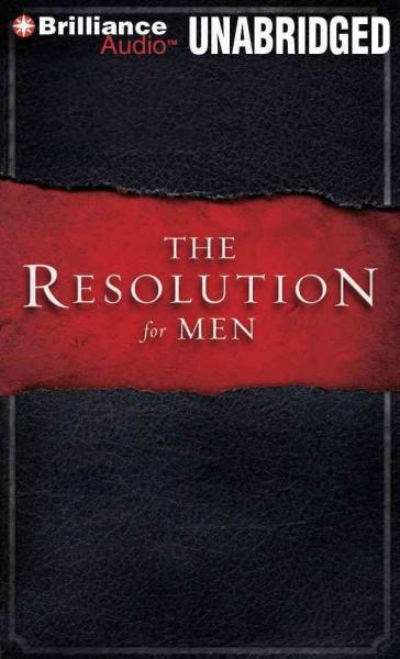 The Resolution for Men (CD-Audio)