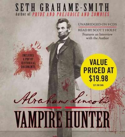 Abraham Lincoln: Vampire Hunter (CD-Audio) - Thumbnail 0