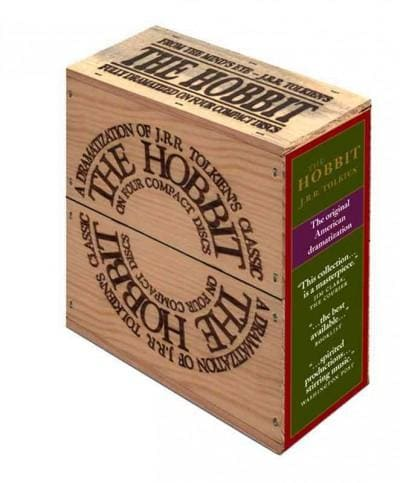 The Hobbit: Wood Box Edition (CD-Audio)