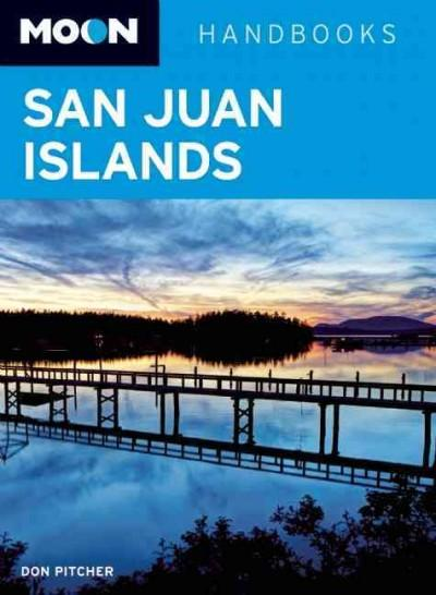 Moon San Juan Islands (Paperback)