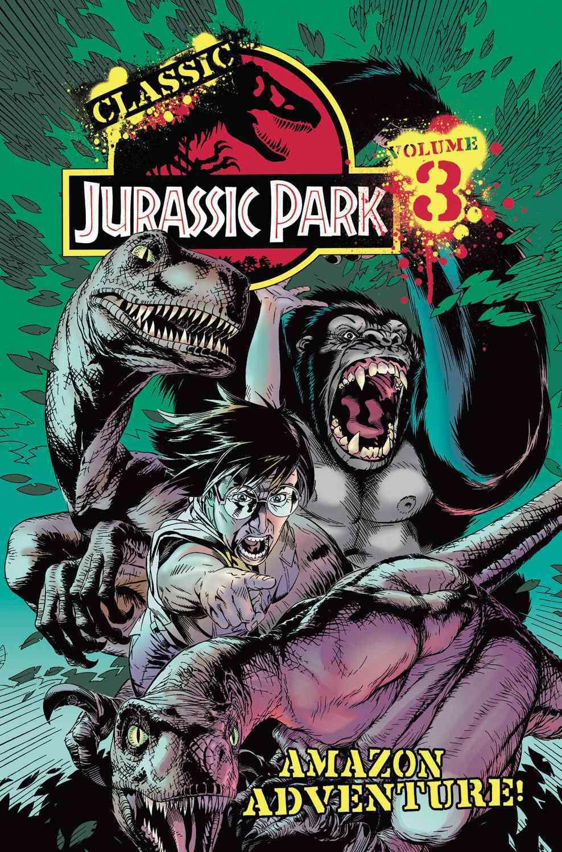 Classic Jurassic Park 3: Amazon Adventure (Paperback)