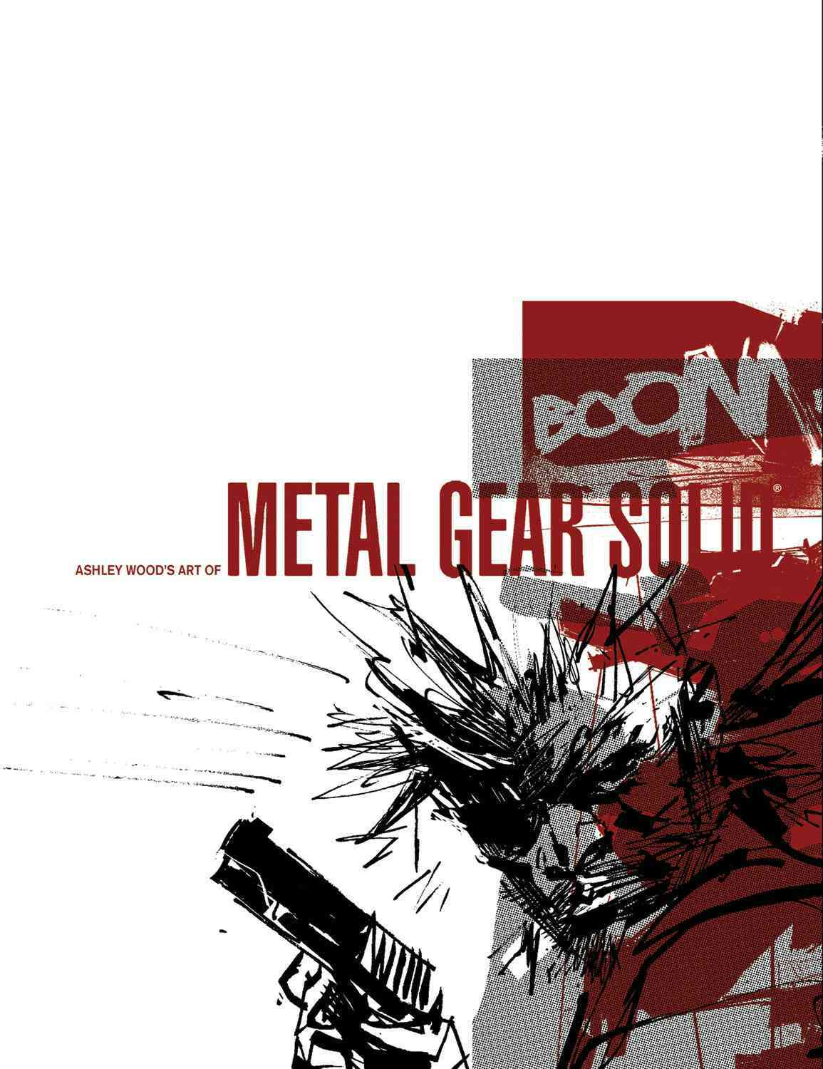 Ashley Wood's Art of Metal Gear Solid (Hardcover)
