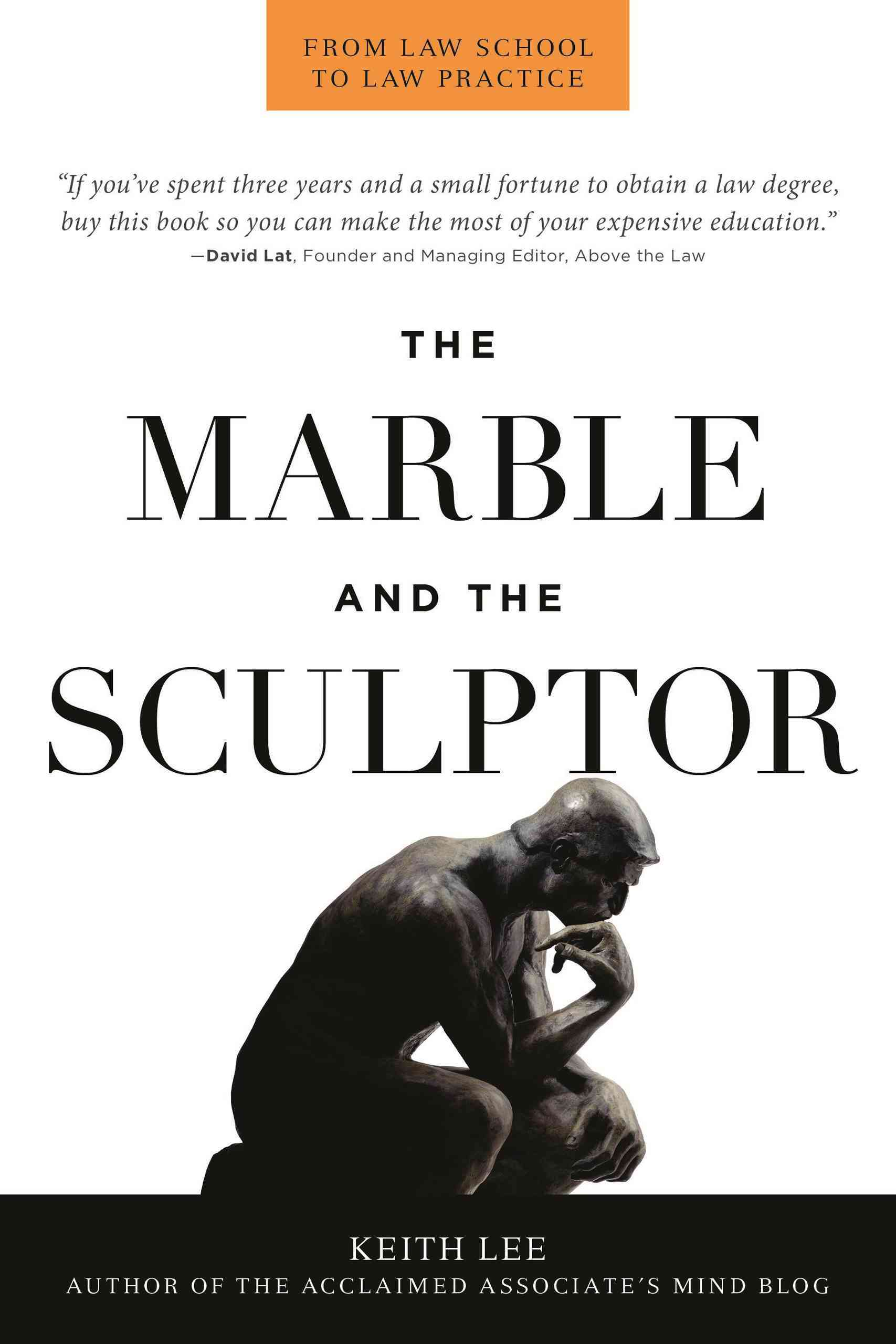 The Marble and the Sculptor: From Law School to Law Practice (Paperback)