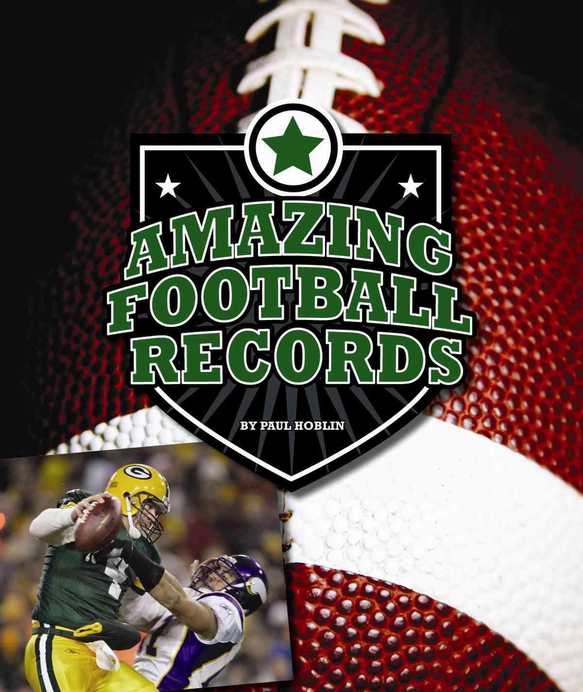 Amazing Football Records (Hardcover)