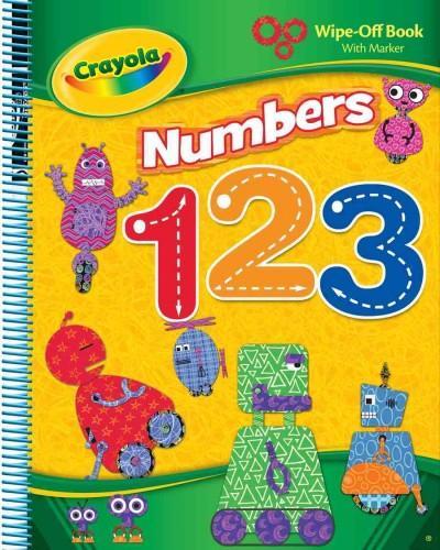 Crayola Numbers 1 2 3 (Board book)